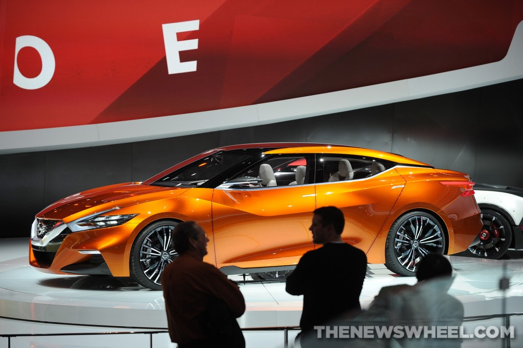 Nissan's Sport Sedan Concept at 2014 NAIAS