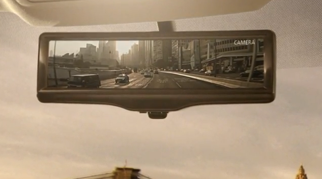 Nissan's Smart Rear View Mirror