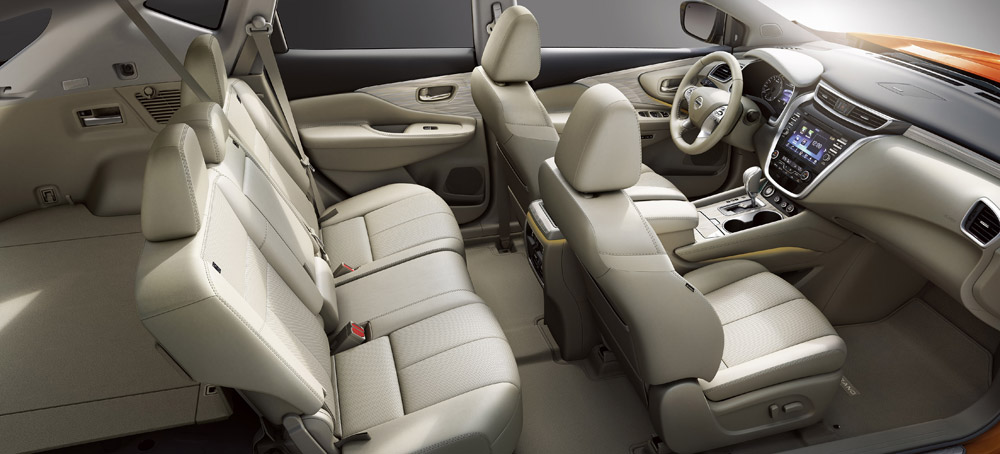 2015 nissan murano rear interior car interior design. Black Bedroom Furniture Sets. Home Design Ideas